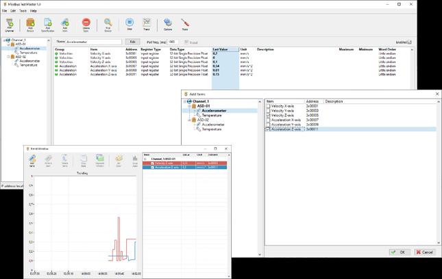 Modbus Test Master Screenshot